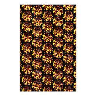 Blumendahlie-Blumen-Muster Briefpapier