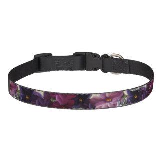 Blumendekor Haustierhalsband