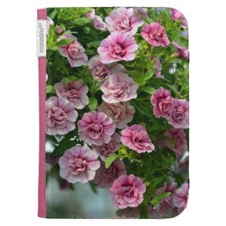 Blumendruck der rosa Petunien zünden Folio an