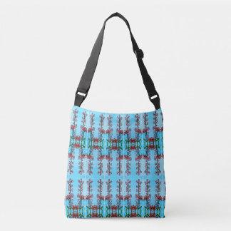 Blumendruck-Pullover-Taschen-Tasche Tragetaschen Mit Langen Trägern
