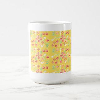 BlumendruckTasse Kaffeetasse