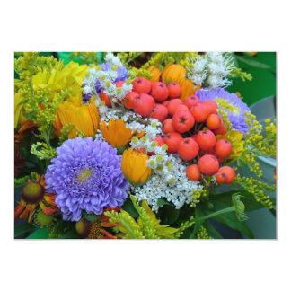 Blumeneinladung 12,7 X 17,8 Cm Einladungskarte