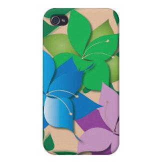 Blumenentwurfs-Speck-Kasten Etui Fürs iPhone 4