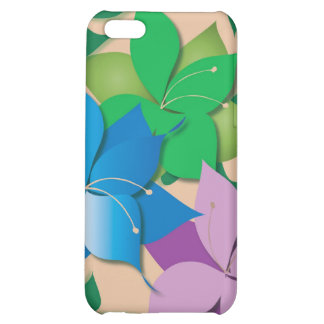 Blumenentwurfs-Speck-Kasten Hülle Für iPhone 5C