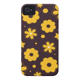 Blumenfahnen-Hauptentwurf Case-Mate iPhone 4 Hülle