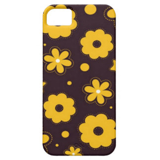 Blumenfahnen-Hauptentwurf Etui Fürs iPhone 5