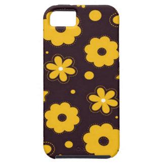 Blumenfahnen-Hauptentwurf iPhone 5 Etui