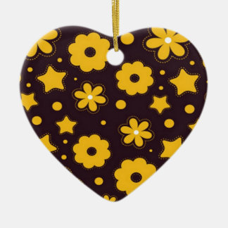 Blumenfahnen-Hauptentwurf Keramik Herz-Ornament
