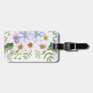 Blumenfeld-Blumenstrauß Gepäckanhänger