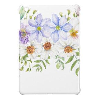 Blumenfeld-Blumenstrauß iPad Mini Cover