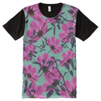 Blumenforscher T-Shirt Mit Bedruckbarer Vorderseite
