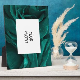 BlumenFoto der reichen aquamarinen blaugrünen Fotoplatte