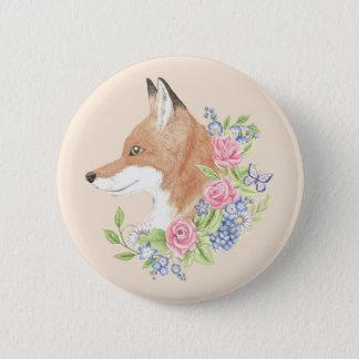 BlumenFox Runder Button 5,1 Cm