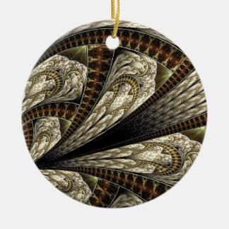 BlumenFraktal #2 Keramik Ornament