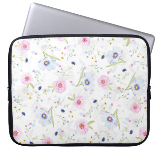 Blumenfrühjahr-Blumen-Laptop-Hülse Laptopschutzhülle