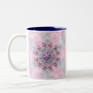 Blumenfrühlings-Sonnenaufgang 325 ml Zwei-Ton Zweifarbige Tasse