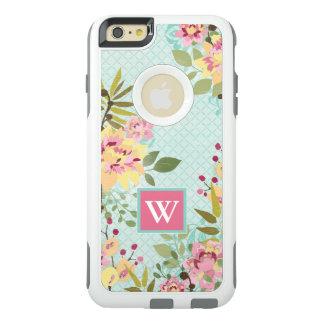 Blumengarten, blauer Hintergrund OtterBox iPhone 6/6s Plus Hülle