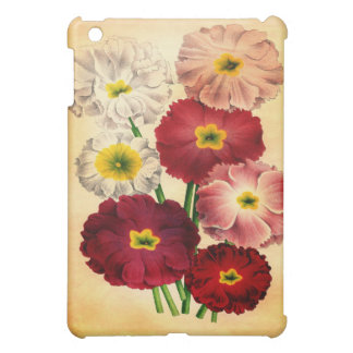Blumengehäuse der Vintagen Nostalgie iPad Mini Hülle