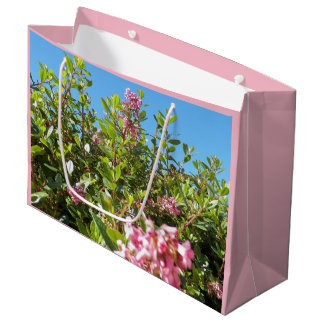 Blumengeschenk-Tasche - groß Große Geschenktüte