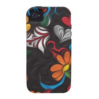 Blumengrafik Case-Mate iPhone 4 Cover