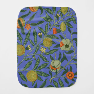 Blumengrafik-Vintage Tapete Williams Morris Spucktuch