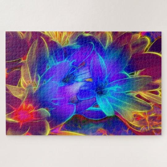 Blumengruß Puzzle