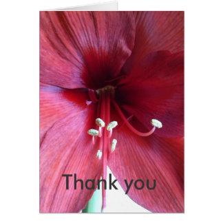 "Blumengrüsse ""Danke"" Karte"
