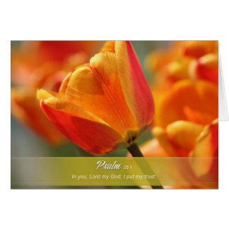 Blumengrußkarte Grußkarte