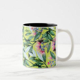 Blumenheilung Zweifarbige Tasse