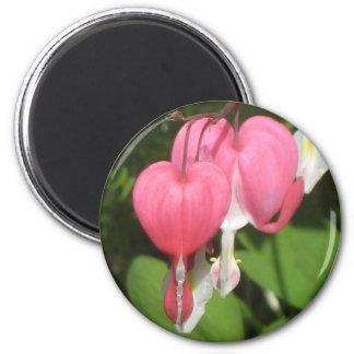 Blumenherz-mittlerer runder Magnet Runder Magnet 5,1 Cm
