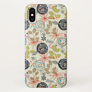 Blumenhintergrund 2 iPhone x hülle