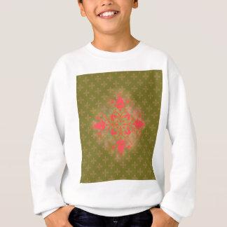 Blumenhintergrund der olivgrünen sweatshirt