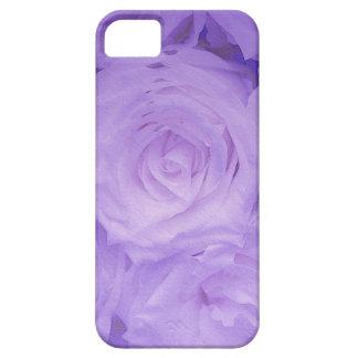 BlumeniPhone Gewohnheit-Fallkamerad lila Rosen Etui Fürs iPhone 5