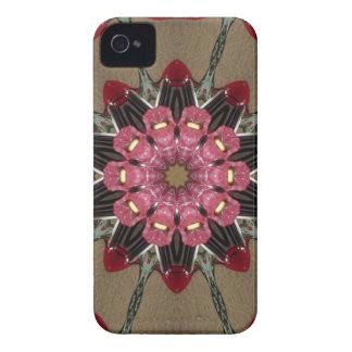 BlumenKaleidoskop iPhone 4/4S Fall iPhone 4 Case-Mate Hüllen