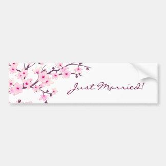 Blumenkirschblüten Autoaufkleber