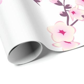 Blumenkirschblüten, die Packpapier Wedding sind
