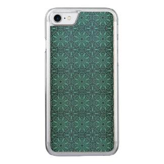 Blumenkönigliches antikes Luxusmuster Carved iPhone 8/7 Hülle