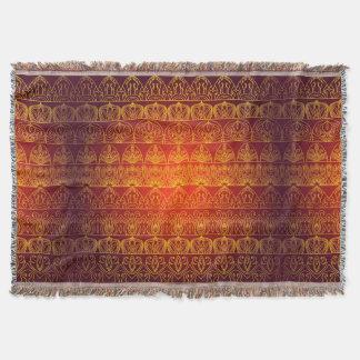 Blumenkönigliches antikes Luxusmuster Decke