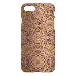 Blumenkönigliches antikes Luxusmuster iPhone 8/7 Hülle
