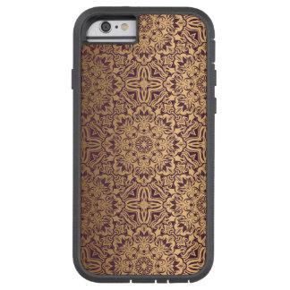 Blumenkönigliches antikes Luxusmuster Tough Xtreme iPhone 6 Hülle