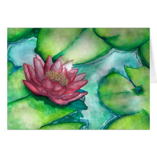 Blumenkunst-Grußkarte Grußkarte