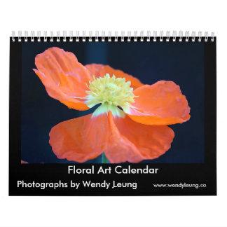 Blumenkunst-Kalender Wandkalender