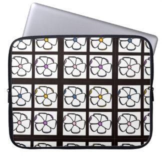 Blumenlaptop-Hülse Laptop Sleeve