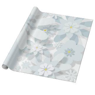 BlumenleinenPackpapier Geschenkpapier
