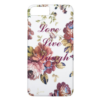 BlumenLiebe-Livelachen iPhone Fall iPhone 7 Plus Hülle