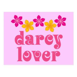 Blumenliebhaber-Geschenk Jane Austens Darcy Postkarte
