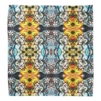 Blumenmond-Muster Halstuch