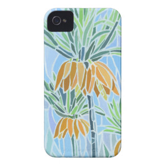 Blumenmosaik iPhone 4 Case-Mate kaum dort iPhone 4 Cover