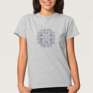 Blumenmotiv Tshirt