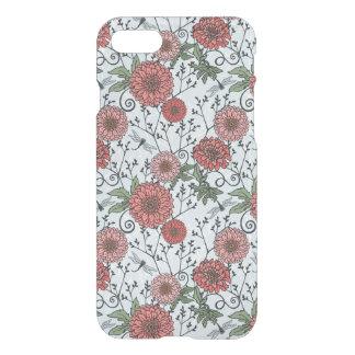 Blumenmuster 3 iPhone 8/7 hülle